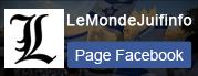 Page Fb LeMonde Juif