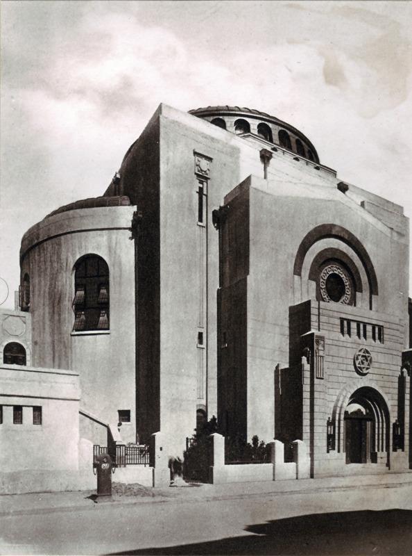 beith aaron synagogue 1927 detruite 1985 shanghai