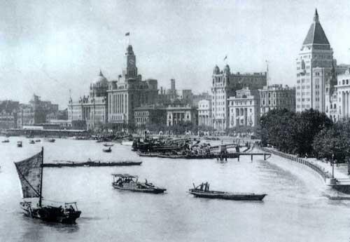 shanghai bund 1920