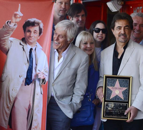 Peter-Falk-receives-posthumous-star-on-the-Hollywood-Walk-of-Fame-in-Los-Angeles
