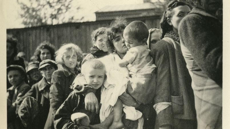 Cliché n°3 - Ghetto de Szydlowiec, 1942. Photo: Heinrich Moepken. © Yad Vashem.