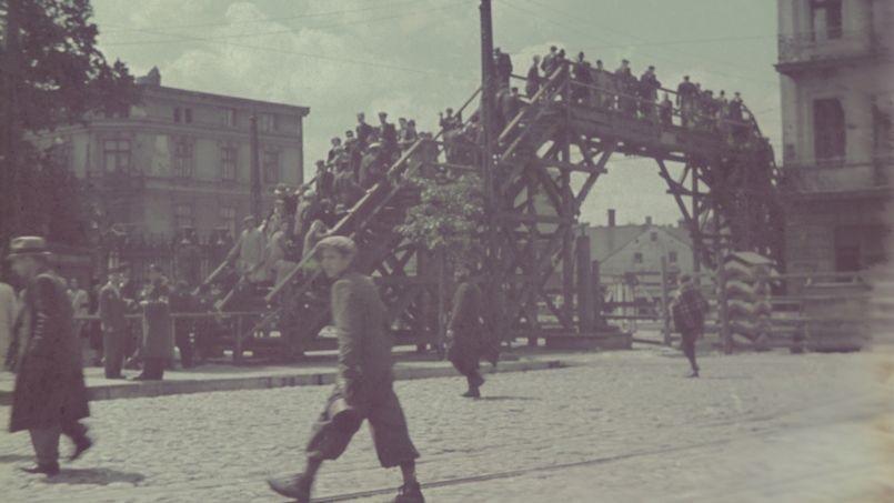 Cliché n°8 - Ghetto de Lodz, 1941. Photo: Walter Genewein. © United States Holocaust Memorial Museum.