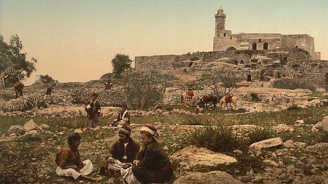 Des bergers à Navi Shmuel