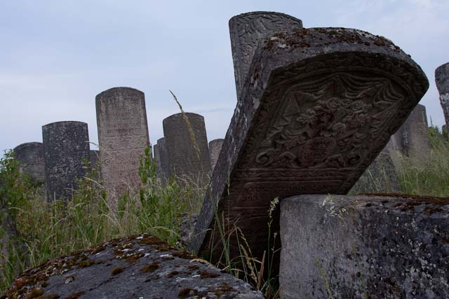 Der jüdische Friedhof in Brody