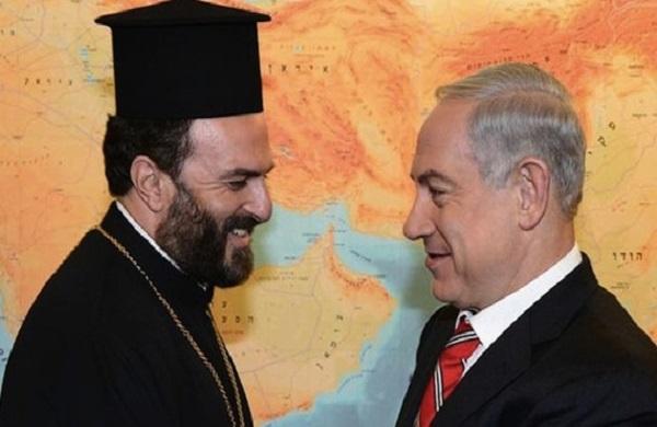 PM Netanyahu meets with Christian spiritual leader Father Gabriel Nadaf
