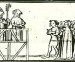Hugue Aubriot jugé comme hérétique