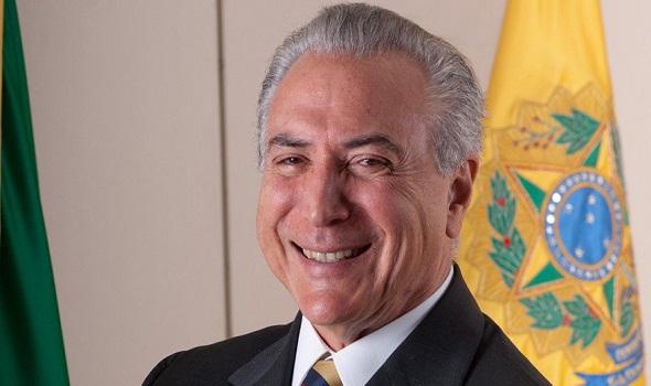 Brésil  le nouveau président par intérim, Michel Temer, est un ami