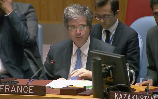ONU : la France vote ENCORE en faveur d'une résolution réclamant la protection des Palestiniens à Gaza - Le Monde Juif